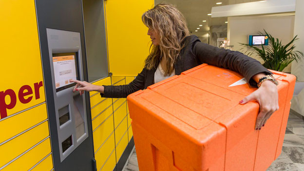 Audio «Service-Ärger für Postkunden: Automaten spucken Päckli nicht aus» abspielen.