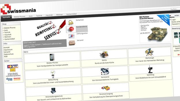 Audio «Grosser Gemischtwarenladen mit fragwürdiger Kundenbetreuung» abspielen