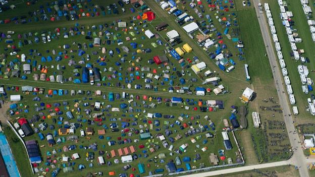 Audio «Schwingfest: Camper brauchen grosses Portemonnaie» abspielen