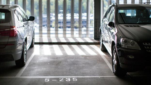Audio ««Espresso Aha!»: Wie breit muss ein Parkplatz sein?» abspielen