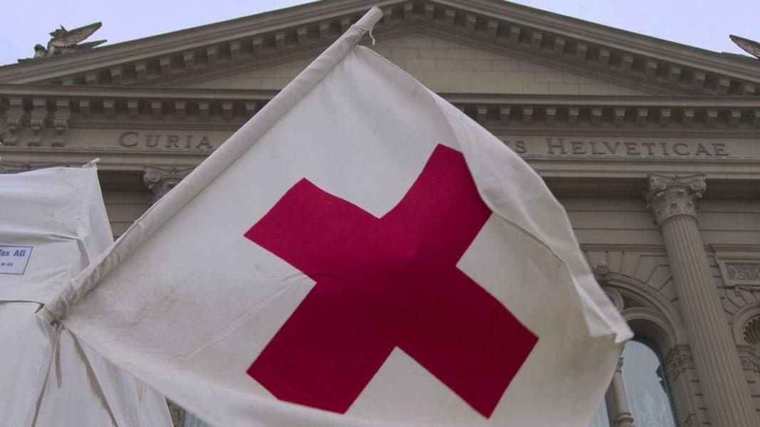 Viermal denselben Bettelbrief vom Roten Kreuz