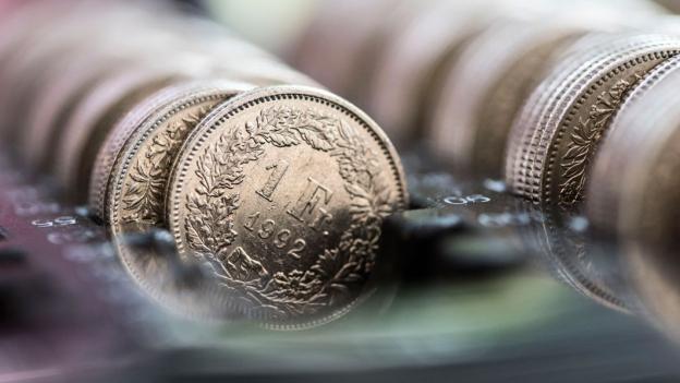 Geld Papier Für Münzrollen Kostet Fünf Rappen Pro Stück