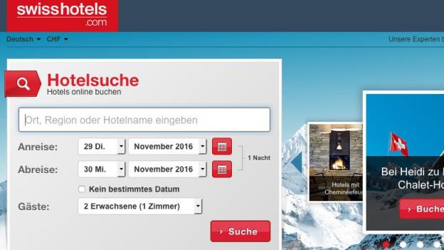 Kaum jemand kennt die Buchungsplattform der Schweizer Hoteliers