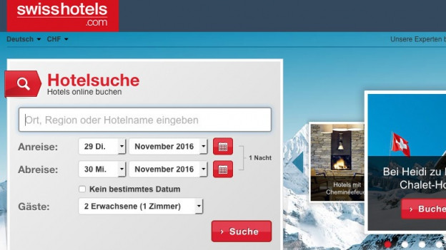 Audio «Kaum jemand kennt die Buchungsplattform der Schweizer Hoteliers» abspielen.