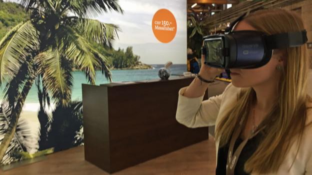 Audio «Reisebüros: Mit 3-D-Brillen gegen die Krise» abspielen.