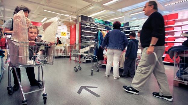 Audio «Wenn Fleisch und Milch ganz hinten im Laden versteckt sind» abspielen