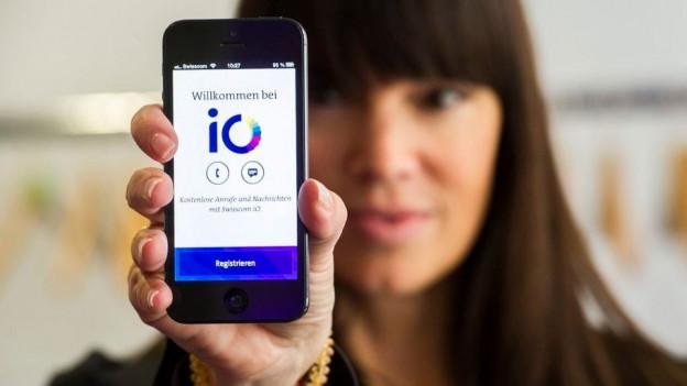 Audio «Wie erfolgreich ist die Whatsapp-Alternative iO von Swisscom?» abspielen