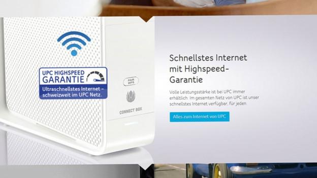 Audio «Internetgeschwindigkeit: UPC macht ihr günstiges Angebot schlecht» abspielen.
