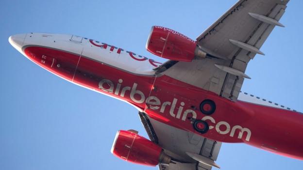 Audio «Air Berlin verärgert Kunden mit Umbuchungen und lügt sie an» abspielen