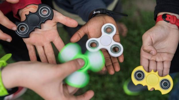 Eine Folge des Booms: Markenstreit um Handkreisel