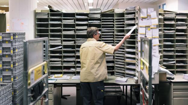 Audio «Postchefs sorgen mit Produktivitäts-Rangliste für Unruhe» abspielen.