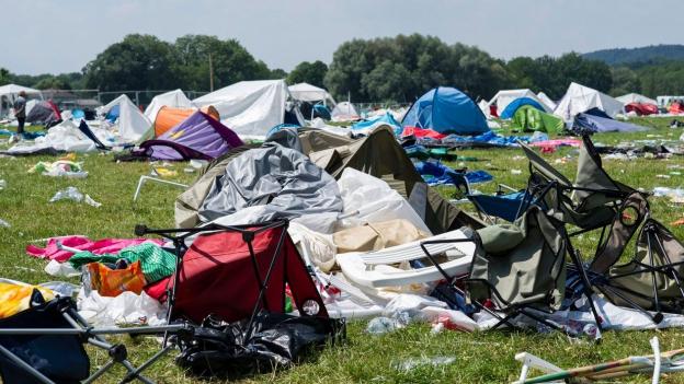 Wer ist schuld am Abfallberg nach dem Open Air?