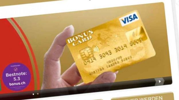 Audio «Erneut Ärger mit der Visa Bonus Card» abspielen