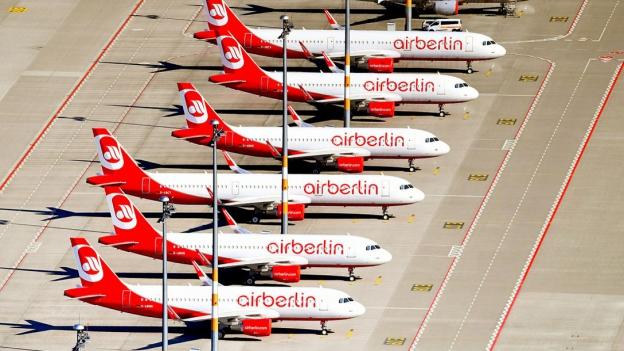 Air Berlin: «Sehr wichtige Reisen allenfalls neu buchen»