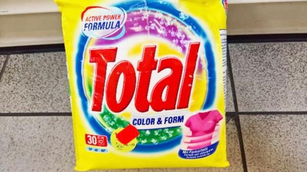 Uraltes Migros-Waschmittel im türkischen Supermarkt