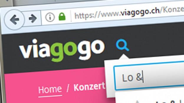 Audio «Klagen gegen die lusche Ticketbörse Viagogo» abspielen.