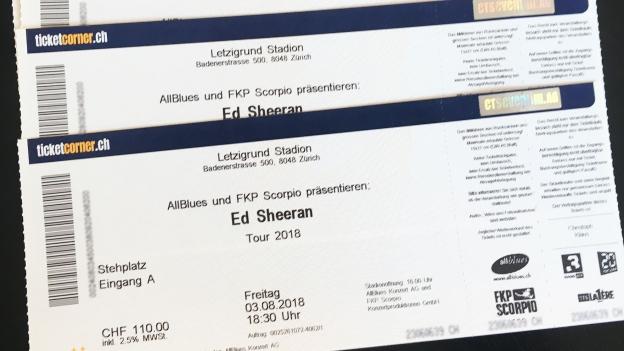 Ärger mit Ticketbörse - Viagogo liefert ungültige Tickets für Ed ...