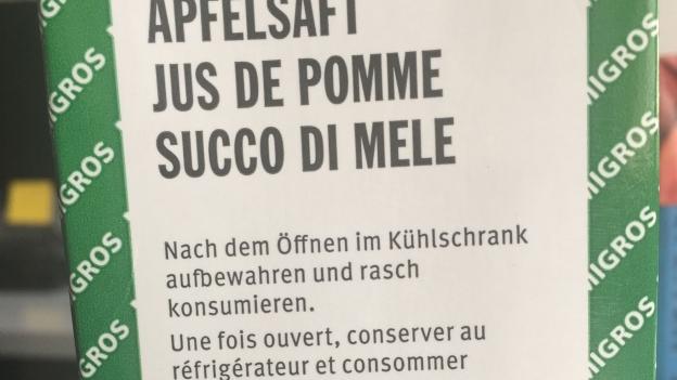 Aldi Suisse Kühlschrank : Espresso aha!» was heisst «rasch konsumieren»? kassensturz