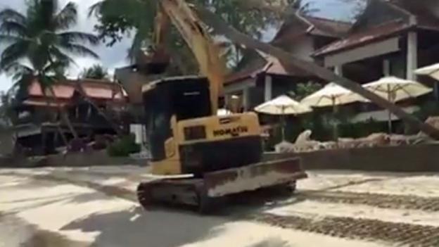 Wegen Baustelle: Horrorferien in Thailand