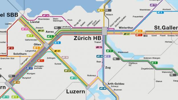 «Espresso Aha!»: Warum die SBB ihre Intercity-Linien nummeriert