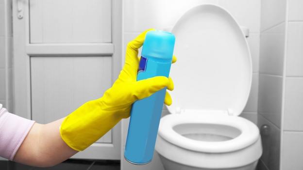 Geruchloser Spray verspricht frische Raumluft
