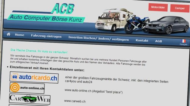 Aggressives Telefonmarketing der «Auto Computer Börse Kunz»