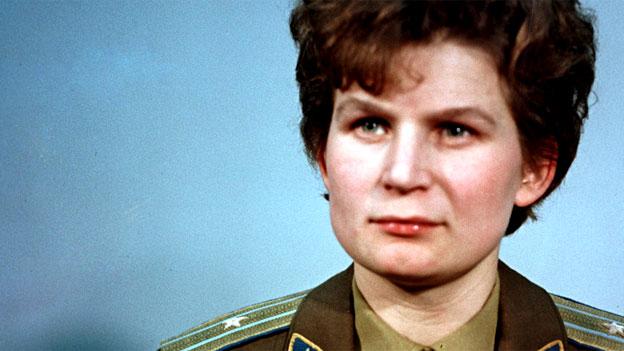 Valentina Tereschkowa, die erste Frau im Weltall