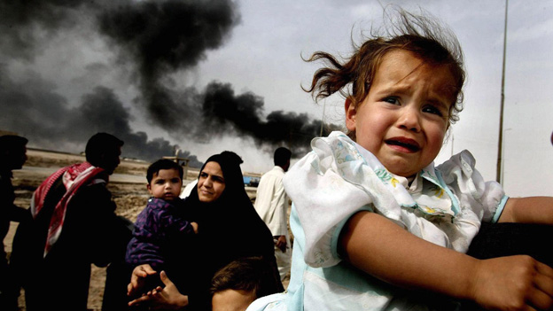 Die inszenierte Schlacht - vor 10 Jahren begann der Irakkrieg