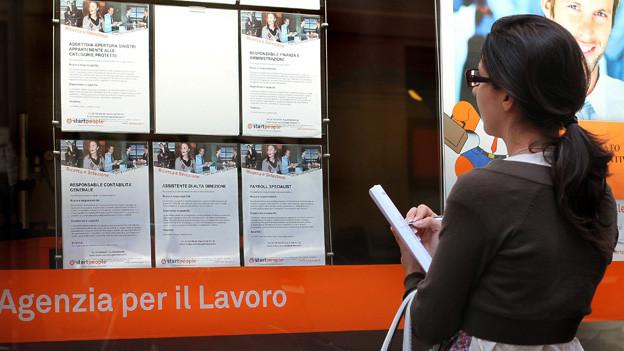 Audio «Italien: Jugend ohne Job» abspielen.