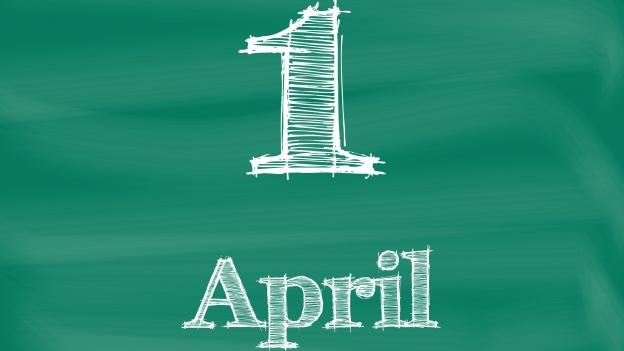 Die Scherzmeldungen vom 1. April