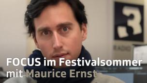 Audio «Focus im Festivalsommer: Maurice Ernst (Bilderbuch)» abspielen.