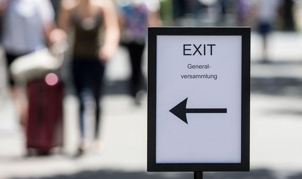 Exit diskutiert über erleichterte Sterbehilfe