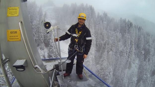 Audio «Das fliegende Velo der Bergretter von Disentis» abspielen
