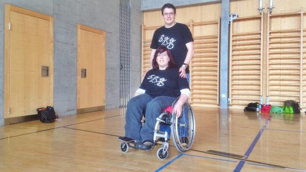 Wheel-Line-Dance: Zu Tanz im Rollstuhl