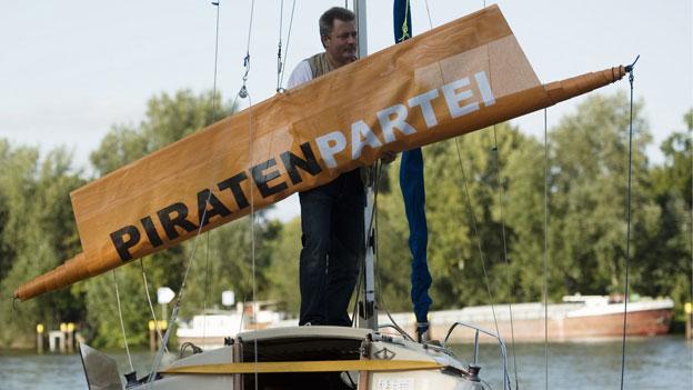 Die Piraten suchen Wind