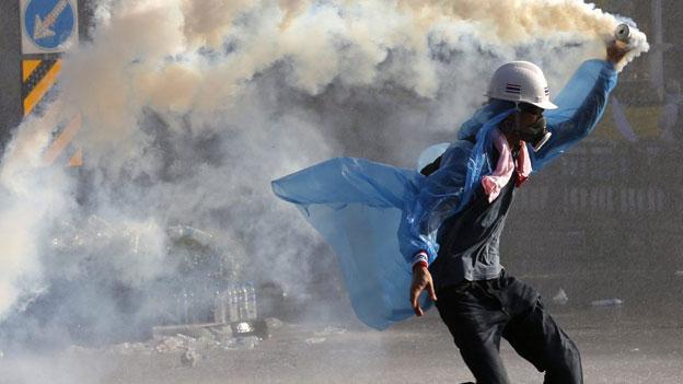 Das Ende des friedlichen Protests in Thailand