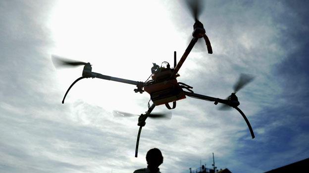Der Quadrocopter war der Weihnachtsrenner
