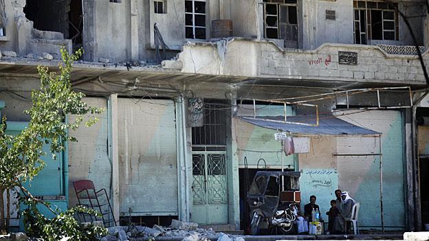 Elias Hanna - wenig Hoffnung für Frieden in Syrien
