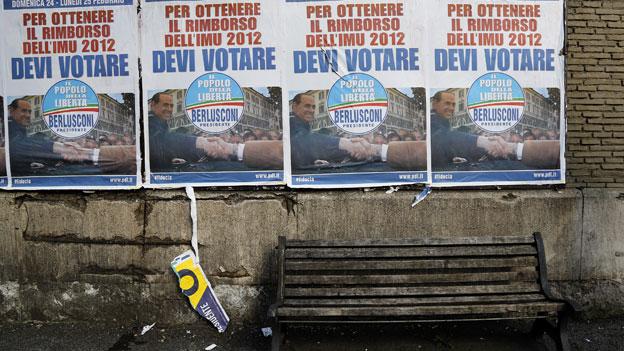 Geringe Aussichten für eine stabile Regierung in Italien