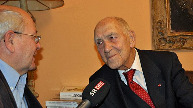 Zum Tod eines grossen Zeitgenossen: Stéphane Hessel