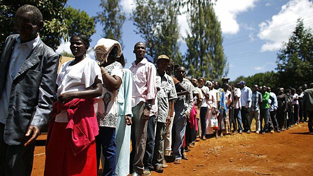 Wahltag in Kenia
