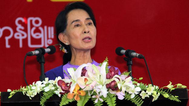 Aung San Suu Kye's Partei modernisiert sich