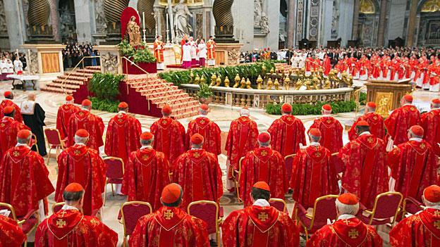 Papstwahl - die Hälfte der Kardinäle kommt aus Europa