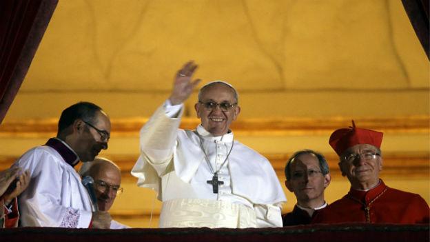 Jorge Mario Bergoglio ist Papst Franziskus