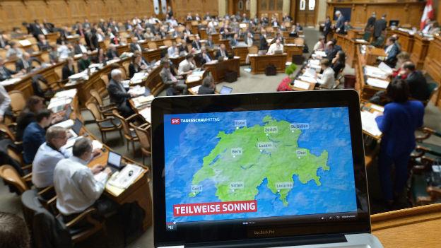 Nationalrat will eine einheitliche Radio- und Fernsehgebühr