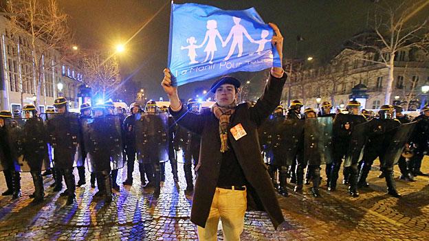 Frankreichs Rechte mobilisiert gegen die «Homo-Ehe»
