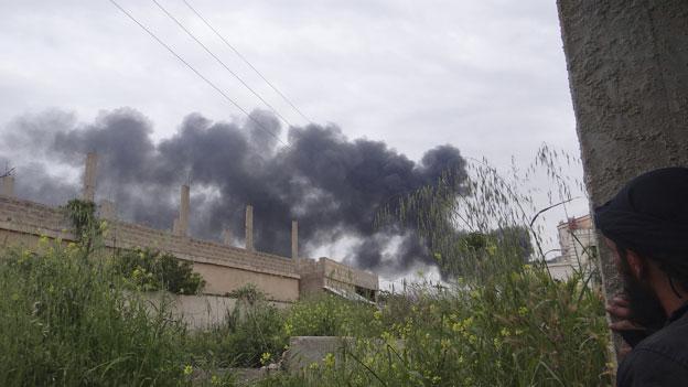 Syrien: USA vermuten Einsatz von Chemiewaffen