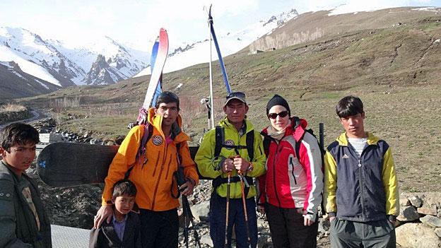 Eine Skitour in den wilden Bergen Afghanistans