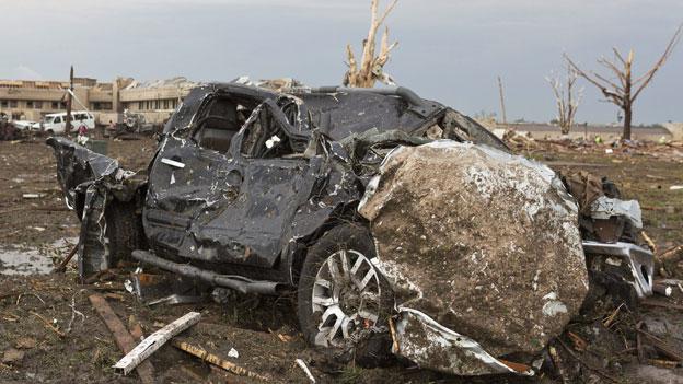 Offene Fragen nach dem Tornado bei Oklahoma