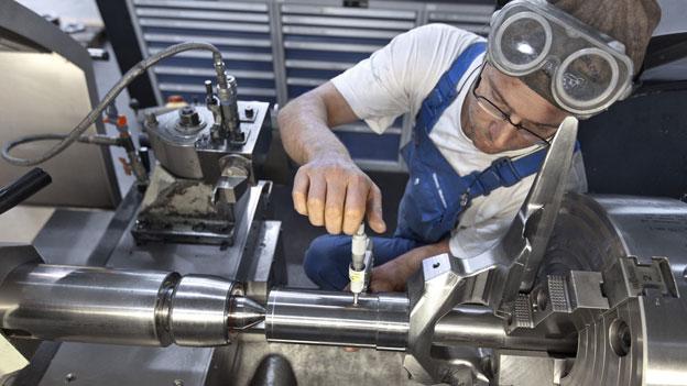 Ein Mindestlohn für die Maschinenindustrie